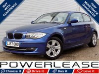 USED 2007 57 BMW 1 SERIES 2.0 118D SE 3d 141 BHP BLACK FRIDAY WEEKEND EVENT, FRONT AND REAR PARKING SENSORS