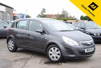 USED 2011 11 VAUXHALL CORSA 1.2 EXCLUSIV A/C 5d 83 BHP
