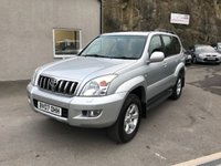 USED 2007 07 TOYOTA LAND CRUISER 3.0 LC5 8-SEATS D-4D 5d AUTO 164 BHP F.S.H *** 73k MILES ONLY****LAST OWNER SINCE 2010***
