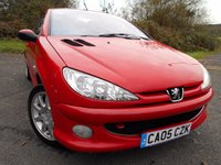 USED 2005 05 PEUGEOT 206 1.6 SPORT COUPE CABRIOLET 2d 108 BHP ** NICE EXAMPLE , PART EXCHANGE TO CLEAR **