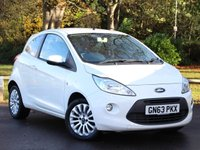 USED 2013 63 FORD KA 1.2 ZETEC 3d 69 BHP £78 PCM With £429 Deposit