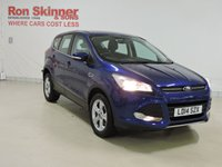 USED 2014 14 FORD KUGA 1.6 ZETEC 5d 147 BHP with rear parking sensor