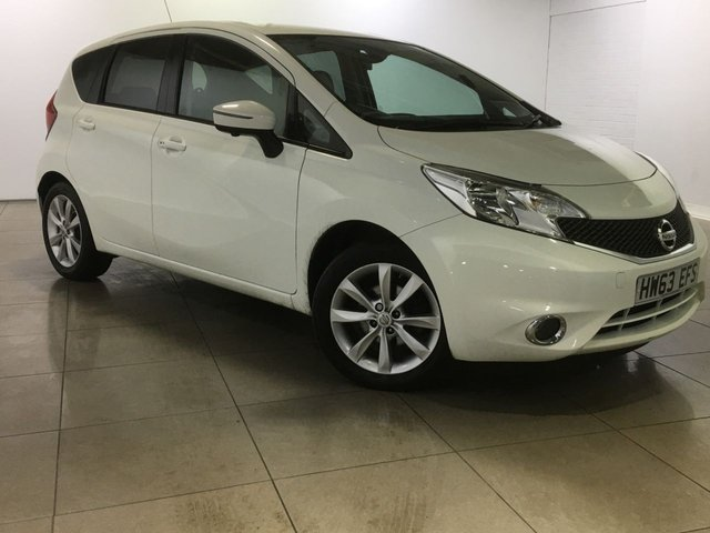 View our 2014 63 NISSAN NOTE 1.5 DCI TEKNA 5d 90 BHP