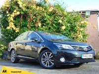 USED 2013 TOYOTA AVENSIS 2.2 D-CAT TR 4d AUTO  * 128 POINT AA INSPECTED *