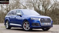 USED 2017 17 AUDI Q7 4.0 SQ7 TDI QUATTRO 5d AUTO 429 BHP Balance of Manufactures 4 Years Warranty