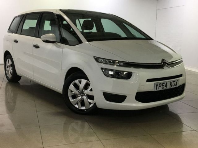 View our 2014 64 CITROEN C4 PICASSO 1.6 GRAND E-HDI AIRDREAM VTR ETG6 5d AUTO 91 BHP