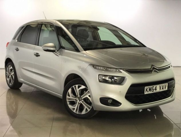 View our 2014 64 CITROEN C4 PICASSO 1.6 E-HDI AIRDREAM EXCLUSIVE PLUS 5d 113 BHP