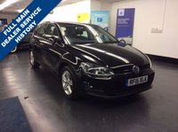 USED 2015 15 VOLKSWAGEN GOLF 1.6 MATCH TDI BLUEMOTION TECHNOLOGY DSG 5d AUTO 103 BHP , FULL SERVICE HISTORY, GREAT SPEC INCLUDING FRONT AND REAR PARKING SENORS, CLIMATE CONTROL