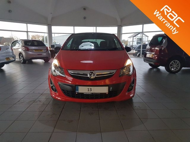 2013 T VAUXHALL CORSA 1.2 LIMITED EDITION 3d 83 BHP