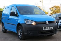 USED 2011 61 VOLKSWAGEN CADDY MAXI 1.6 C20 TDI 1d 101 BHP VAT INCLUDED NO VAT TO PAY ON TOP OF PRICE