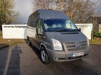 2014 FORD TRANSIT 350 2.2 125 BHP L/ H/R FWD 70 VANS IN STOCK £6850.00