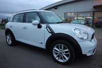 USED 2010 60 MINI COUNTRYMAN 1.6 COOPER S ALL4 5d 184 BHP LOW DEPOSIT OR NO DEPOSIT FINANCE AVAILABLE.