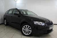 USED 2013 13 SKODA OCTAVIA 1.6 S TDI CR 5DR 104 BHP SKODA SERVICE HISTORY + BLUETOOTH + CRUISE CONTROL + DAB RADIO + AIR CONDITIONING + 16 INCH ALLOY WHEELS