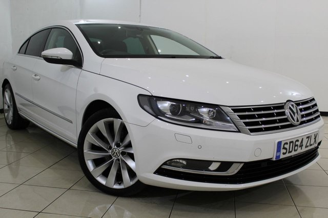View our 2014 64 VOLKSWAGEN CC 2.0 GT TDI BLUEMOTION TECHNOLOGY 4DR 175 BHP