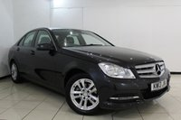 USED 2013 13 MERCEDES-BENZ C CLASS 1.6 C180 BLUEEFFICIENCY EXECUTIVE SE 4DR AUTOMATIC 154 BHP FULL SERVICE HISTORY + LEATHER SEATS + BLUETOOTH + PARKING SENSOR + CRUISE CONTROL + MULTI FUNCTION WHEEL + CLIMATE CONTROL + 16 INCH ALLOY WHEELS