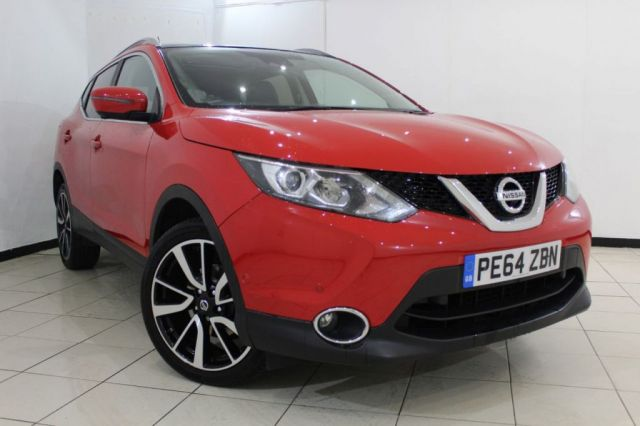 View our 2014 64 NISSAN QASHQAI 1.5 DCI TEKNA 5DR 108 BHP