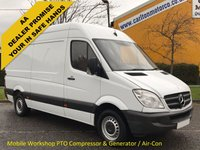 USED 2013 13 MERCEDES-BENZ SPRINTER 2.1 316 CDI 163 Mwb High Roof [ Mobile Workshop Compressor+ Mess Unit] Van Free UK Delivery