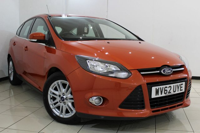View our 2012 62 FORD FOCUS 1.6 TITANIUM TDCI 115 5DR 114 BHP