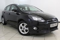 USED 2012 62 FORD FOCUS 1.6 ZETEC TDCI 5DR 113 BHP SERVICE HISTORY + BLUETOOTH + MULTI FUNCTION WHEEL + AUXILIARY PORT + RADIO/CD + AIR CONDITIONING + 16 INCH ALLOY WHEELS