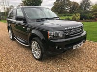 USED 2012 62 LAND ROVER RANGE ROVER SPORT 3.0 SDV6 HSE 5d AUTO 255 BHP SATNAV, TV, HEATED LEATHER, PARK ASSIST WITH REVERSE CAMERA