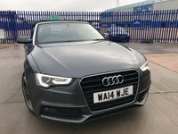 USED 2014 14 AUDI A5 2.0 TDI S LINE SPECIAL EDITION 2d AUTO 175 BHP