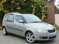 USED 2008 08 SKODA ROOMSTER 1.9 3 TDI 5d  **FULL SKODA SERVICE HISTORY INCLUDING CAMBELT CHANGE**