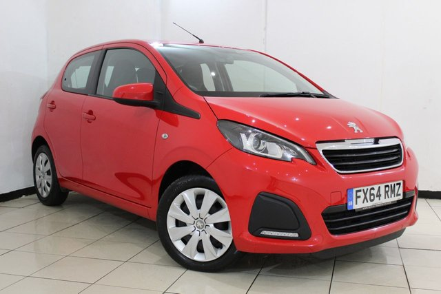 View our 2014 64 PEUGEOT 108 1.0 ACTIVE 5DR 68 BHP