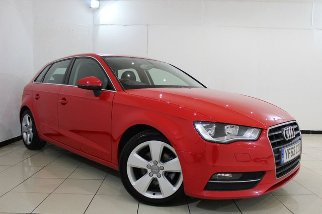 View our 2013 63 AUDI A3 1.6 TDI SPORT 5DR 104 BHP