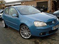 2006 VOLKSWAGEN GOLF 2.0 GT TDI 3d 138 BHP £2395.00