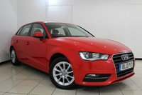 USED 2013 13 AUDI A3 2.0 TDI SE 5DR 148 BHP SERVICE HISTORY + SAT NAVIGATION + BLUETOOTH + PARKING SENSOR + MULTI FUNCTION WHEEL + DAB RADIO + 16 INCH ALLOY WHEELS