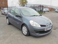 USED 2007 07 RENAULT CLIO 1.1 EXPRESSION 16V 5d 75 BHP