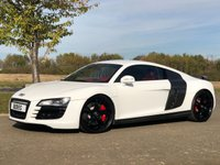 2008 AUDI R8 4.2 V8 QUATTRO AUTO 500 BHP 2 DR COUPE ABT BODYSTYLING £41995.00