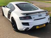 "USED 2008 08 AUDI R8 4.2 V8 QUATTRO AUTO 500 BHP 2 DR COUPE ABT BODYSTYLING +20"" ALLOYS+LEFT HAND DRIVE+"