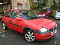 1999 VAUXHALL CORSA 1.2 CLUB 16V 3d 65 BHP £595.00