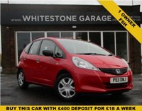USED 2011 11 HONDA JAZZ 1.2 I-VTEC S 5d 89 BHP ONE OWNER FULL SERVICE HISTORY A REAL CREDIT TO ITS PREVIOUS OWNER