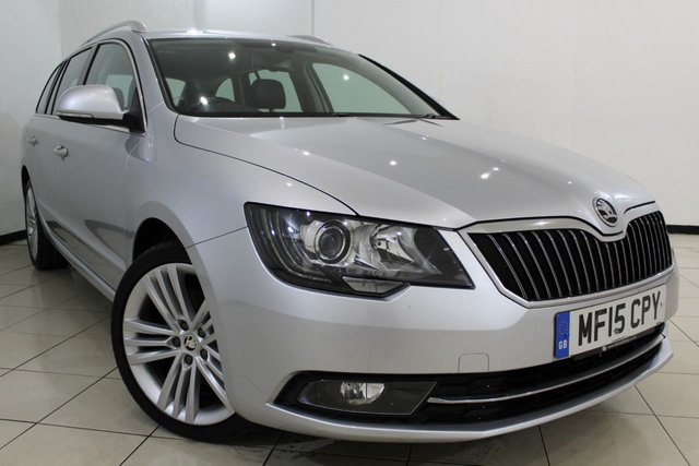 View our 2015 15 SKODA SUPERB 2.0 ELEGANCE TDI CR 5DR 168 BHP