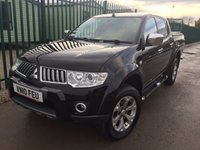 USED 2010 10 MITSUBISHI L200 2.5 DI-D 4X4 WARRIOR LB DCB 1d 175 BHP TRUCKMAN TOP LEATHER FSH NO VAT NO FINANCE REPAYMENTS FOR 2 MONTHS STC. NO VAT. 4WD. TRUCKMAN MOUNTAIN TOP. STUNNING BLACK MET WITH FULL BLACK LEATHER TRIM. SIDE STEPS. CRUISE CONTROL. AIR CON. 17 INCH ALLOYS. COLOUR CODED TRIMS. PRIVACY GLASS. PARKING SENSORS. LOAD LINER KIT. PAS. R/CD PLAYER. MFSW. MOT 09/18. ONE PREV OWNER. FULL DEALER SERVICE HISTORY. FCA FINANCE APPROVED DEALER. TEL 01937 849492