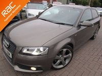 USED 2012 12 AUDI A3 2.0 TDI S LINE SPECIAL EDITION 3d 138 BHP FULL SERVICE HISTORY