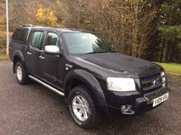 2009 FORD RANGER 2.5 THUNDER 4X4 NO VAT 4DR PICK UP 141 BHP £7857.00