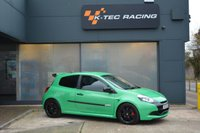 USED 2010 RENAULT CLIO 2.0 RENAULTSPORT CUP 3d 197 BHP ALIEN GREEN, RECARO SEATS, CUP CHASSIS, SPEEDLINE WHEELS, CUP SPOILER, FULL SERVICE HISTORY, SUPERB CONDITION