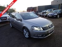 USED 2014 14 VOLKSWAGEN PASSAT 2.0 EXECUTIVE STYLE TDI BMT DSG 5d AUTO 139 BHP With 1 owner from new and a dealership service history of 7 stamps the last being done Jan 2017 at 80,354 miles and an MOT dated March 2018