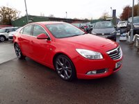 USED 2012 12 VAUXHALL INSIGNIA 1.4 SRI VX-LINE RED S/S 5d 138 BHP FULL SERVICE HISTORY