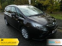 USED 2014 14 VAUXHALL ZAFIRA TOURER 2.0 SE CDTI 5d 128 BHP VERY NICE ONE OWNER LOW MILEAGE ZAFIRA TOURER WITH SEVEN SEATS, HALF LEATHER, CLIMATE CONTROL, CRUISE CONTROL, ALLOY WHEELS AND VAUXHALL SERVICE HISTORY