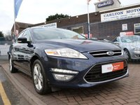 USED 2011 61 FORD MONDEO 1.6 TITANIUM TDCI 5d  DAB ~ BLUETOOTH ~ FULL HISTORY ~ CRUISE CONTROL ~ CLIMATE CONTROL ~ SONY SOUNDS ~ FRONT & REAR PARK ASSIST