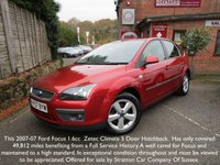 2007 FORD FOCUS 1.6 ZETEC CLIMATE 5d 100 BHP £SOLD