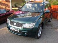 2008 SUZUKI GRAND VITARA 2.0 16V 5d 4WD (LEATHER) £4995.00