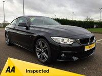 2014 BMW 4 SERIES 420D M SPORT £15995.00