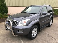 USED 2005 TOYOTA LAND CRUISER LC3 5-SEATS D-4D ALLOYS, PRIVACY GLASS, TOW-BAR, ALLOYS, NEW TYRES