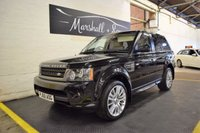 USED 2010 60 LAND ROVER RANGE ROVER SPORT 3.0 TDV6 HSE 5d AUTO 245 BHP BEAUTIFUL CAR - 6 SERVICE STAMPS TO 74K - HUGE SPEC - HSE
