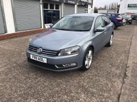 USED 2011 11 VOLKSWAGEN PASSAT 2.0 S TDI BLUEMOTION TECHNOLOGY 4d 139 BHP Service History Including Cambelt-Diesel-18 Inch-Alloys-Start/Stop